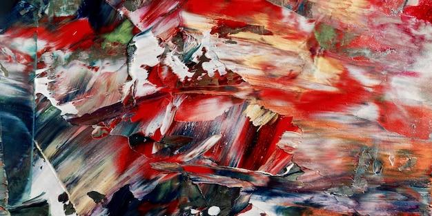カラフルな抽象的な壁紙。モダンモチーフのビジュアルアート。油絵の具の混合物。トレンディな手塗りのキャンバス。壁の装飾と壁のアートプリントのアイデア。 texture.colorful抽象