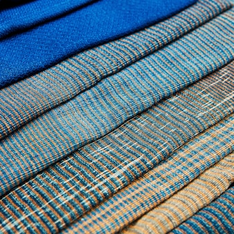 Красочный африканский перуанский стиль поверхности коврика закрыть.