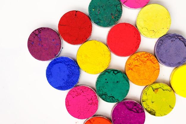 화려한 배경 - 인도 holi 축제 색상