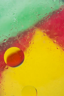 Colorful background with bubble in water