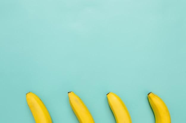 Colorful banana concept