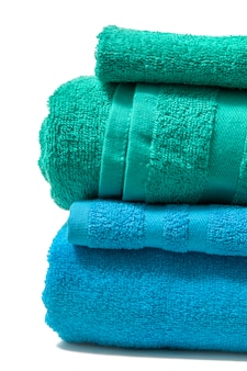 Colorful bathing towels