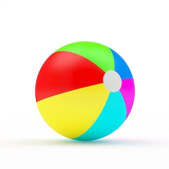 Красочный пляжный мяч