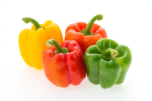Colorful bell pepper