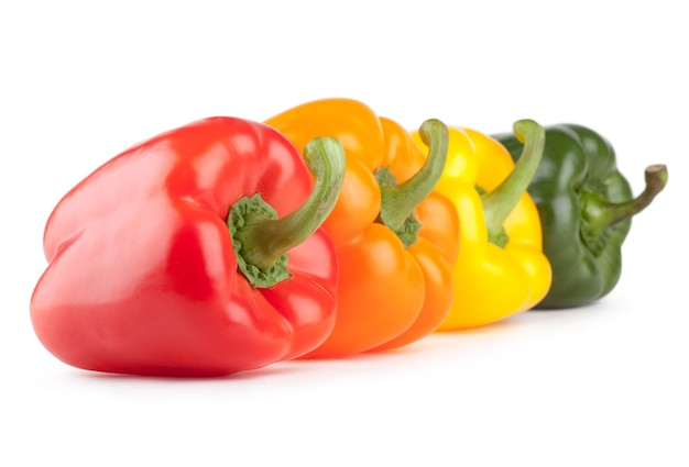 Разноцветный болгарский перец