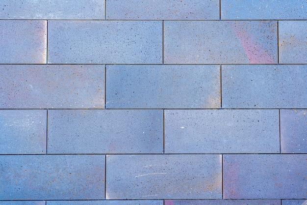Colorful brick wall