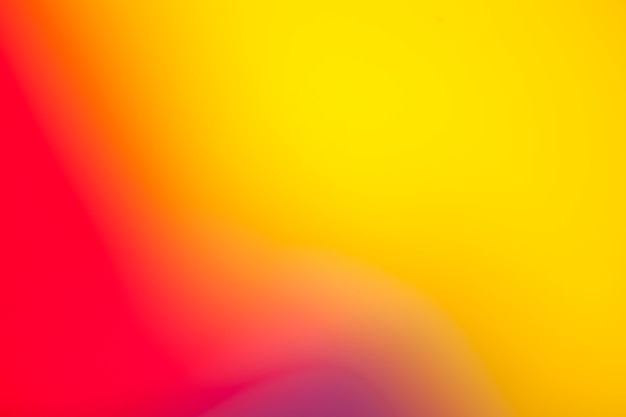 Colorful bright background in gradient