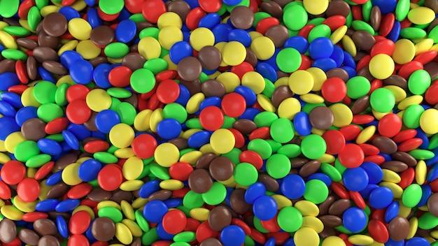 カラフルなキャンディー