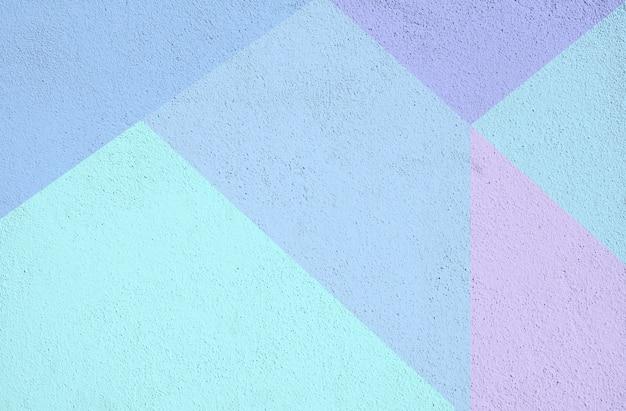 Красочный бетон окрашенный фоновой текстуры. синий фиолетовый