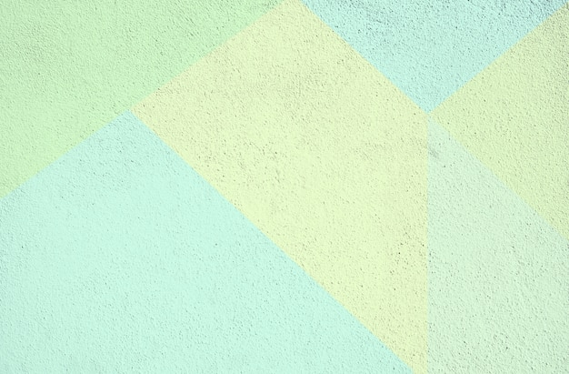Colorful concrete painted background texture. green yellow