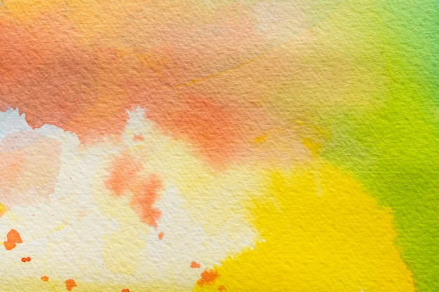 Colorful copy space watercolor background