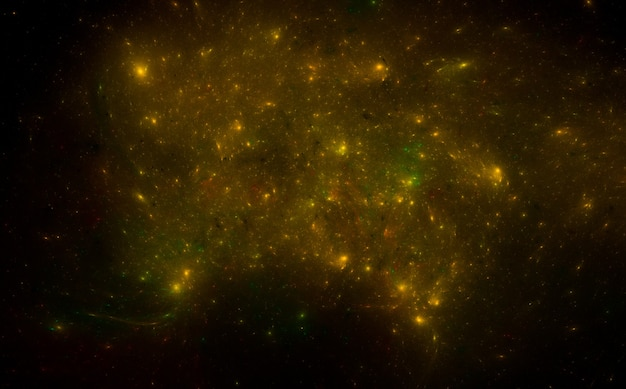Красочный космический узор фона Premium Фотографии