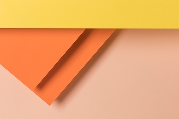 Colorful cupboards design