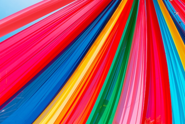 Colorful curtain texture pattern,  party concept