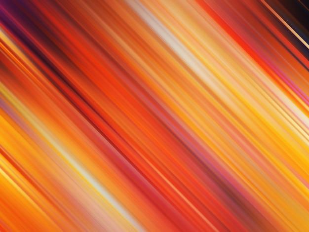 カラフルな斜めの線のパターン、抽象的なグラデーションの背景。柔らかくぼかしモーション効果のある豪華でエレガントなスタイルのイラスト