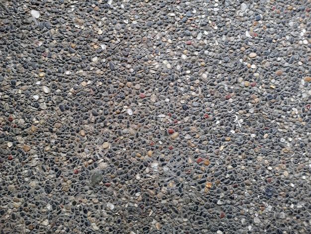 カラフルな汚れた砂利の背景