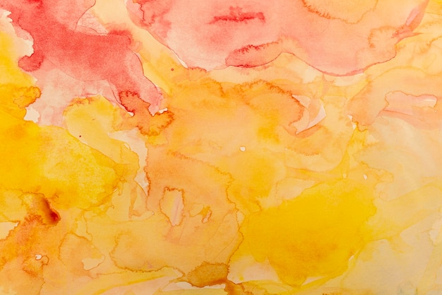Colorful empty copy space watercolor background