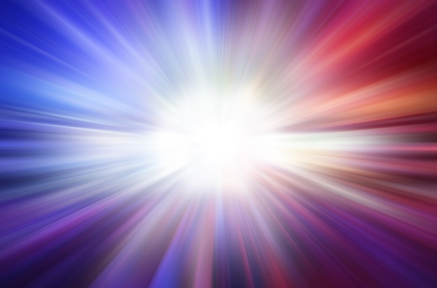 Colorful explosion abstract speed motion light speed background concept.