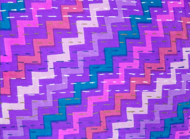 Colorful festive abstract fabric