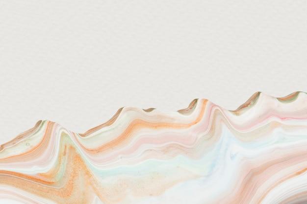 カラフルな流体アクリル絵の具ベクトル