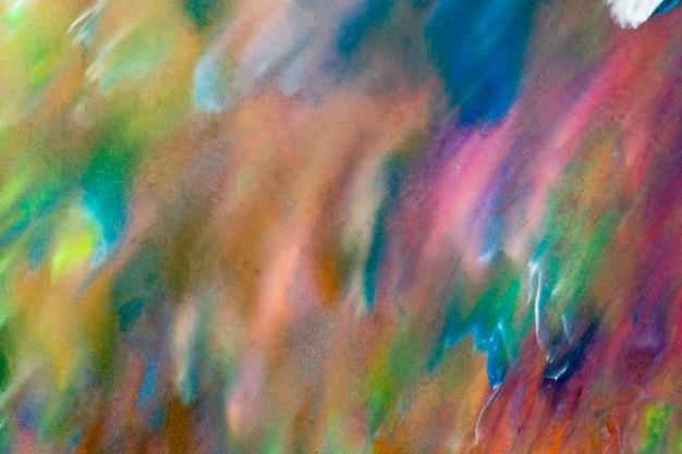 Красочный жидкий художественный фон искусства diy абстрактная плавная текстура