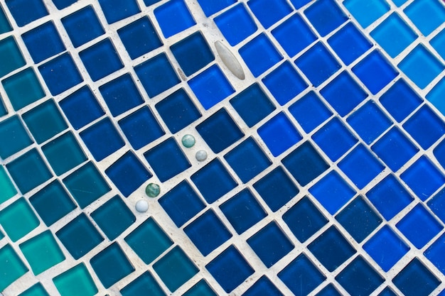Colorful glass and tile wall texture background, mosaic art Premium Photo