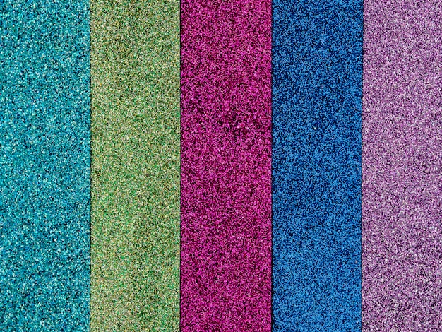 Colorful glitter sparkle background.