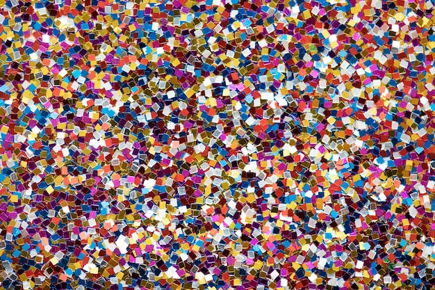 Colorful glitter textured background abstract