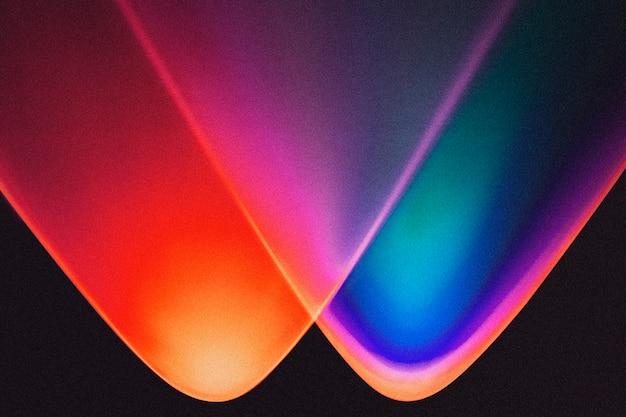 Красочный градиентный фон с неоновым светом
