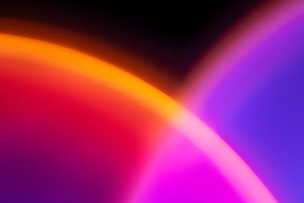 ネオンledライトとカラフルなグラデーションの背景