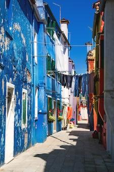 Colorful houses on burano