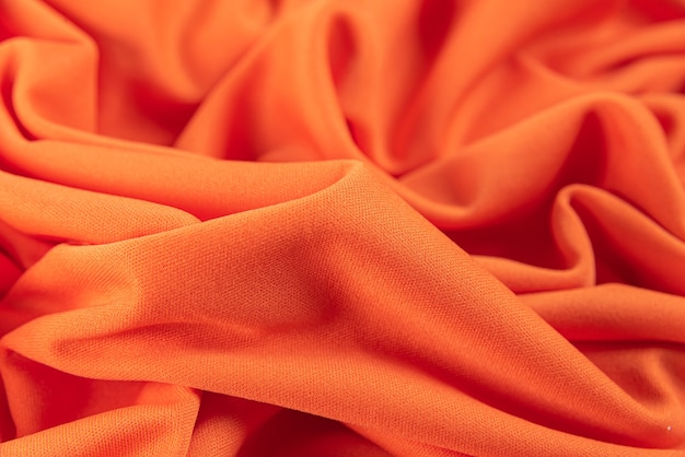 Colorful knitted fabric background
