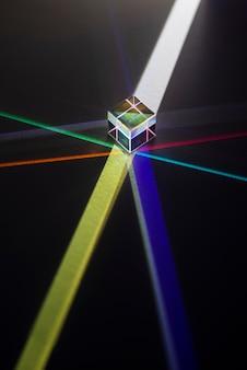Prismi luminosi colorati
