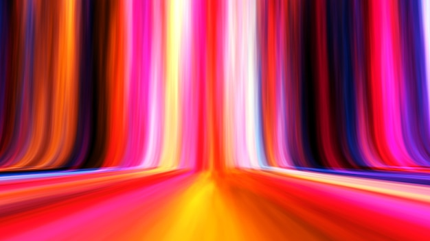 Colorful line gradient abstract light background