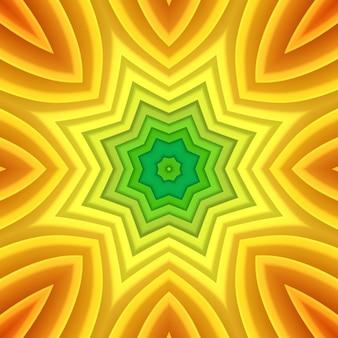 다채로운 많은 시트 밝은 종이 배경. 무지개 색의 종이 추상화. 다양한 모양의 3d 컷아웃