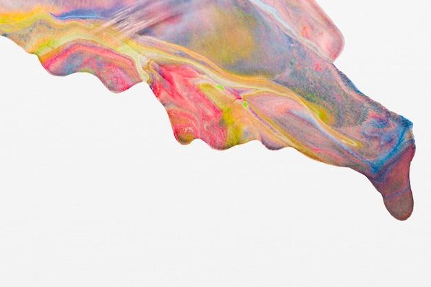 Sfondo di marmo colorato fai da te estetico texture che scorre arte sperimentale