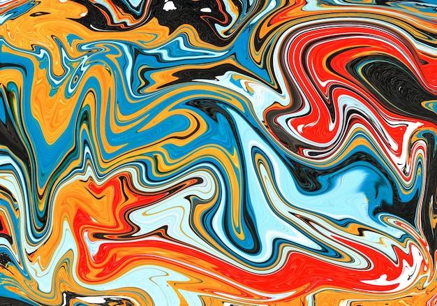 カラフルな大理石のパターン、抽象的な背景。柔らかくぼやけた大理石模様の効果。創造的で豪華でエレガントなスタイルのイラスト