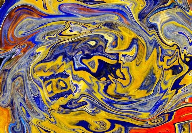 カラフルな大理石のパターン、抽象的な背景。柔らかくぼやけた大理石模様の効果。豪華でエレガントなスタイルのイラスト