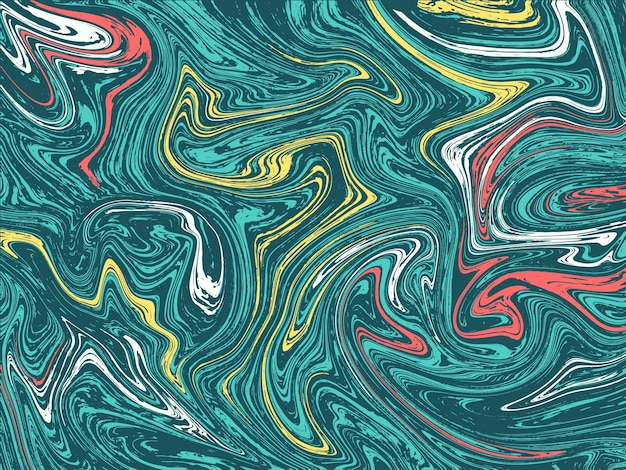 Colorful marbled background