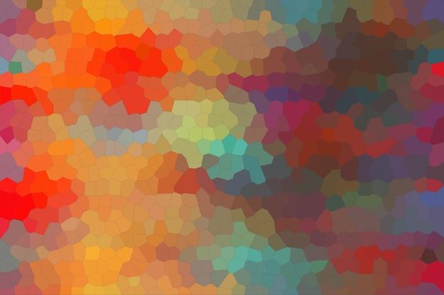 カラフルなモザイクの抽象的なテクスチャの背景、グラデーションの壁紙のパターンの背景