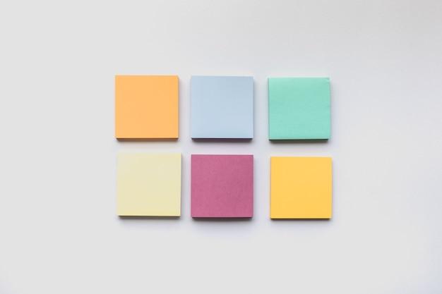Красочный набор бумаги для записей