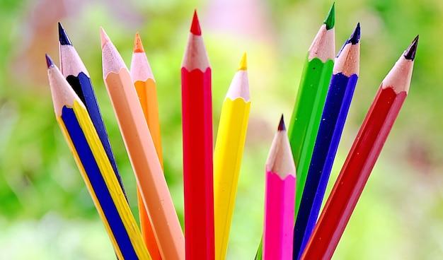 カラフルな鉛筆