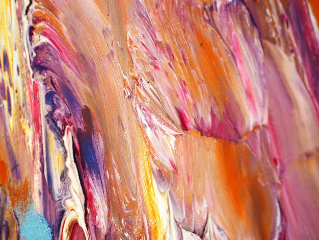 Colorful oil paint abstract background