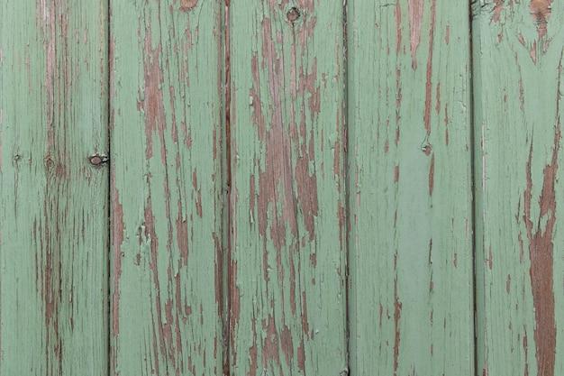 カラフルな古い木の板の背景