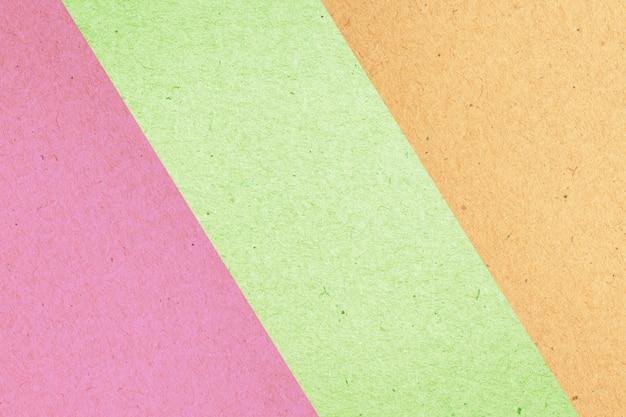 デザインのカラフルな紙ボックスの抽象的な背景