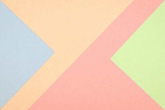 Colorful paper box abstract background, pastel color