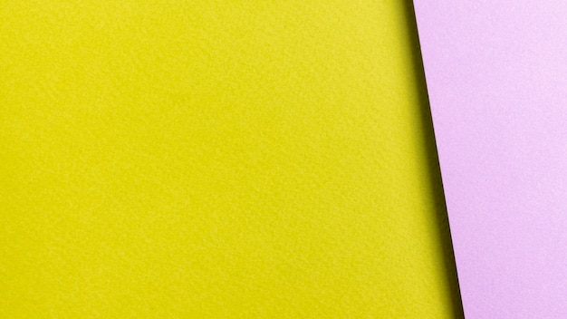 Colorful paper sheets with copy space