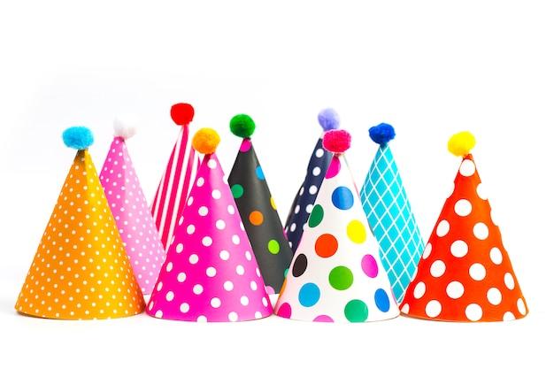 Красочные партийные шляпы для вечеринки