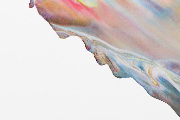 다채로운 파스텔 대리석 배경 diy 미적 흐르는 질감 실험 예술