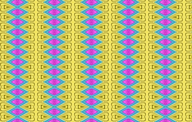 Красочный узор для текстильной плитки и фонов текстура с волнистыми кривыми линиями яркая динамика